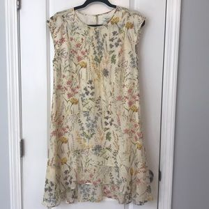 Made well floral high low dress size 0